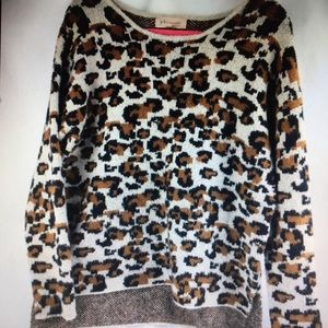 Philosophy animal sweater warm and cozy. SZ  Large